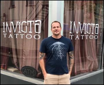 Alex Frew Tattoo