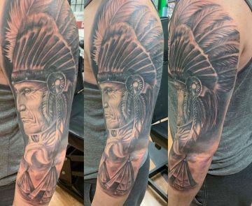 Josh Garloch SPFX tattoo