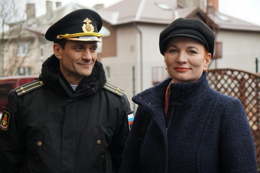 На Первом канале выходит сериал «Андреевский флаг»
