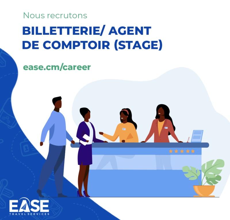 Agent de comptoir / Billetterie (Stage)