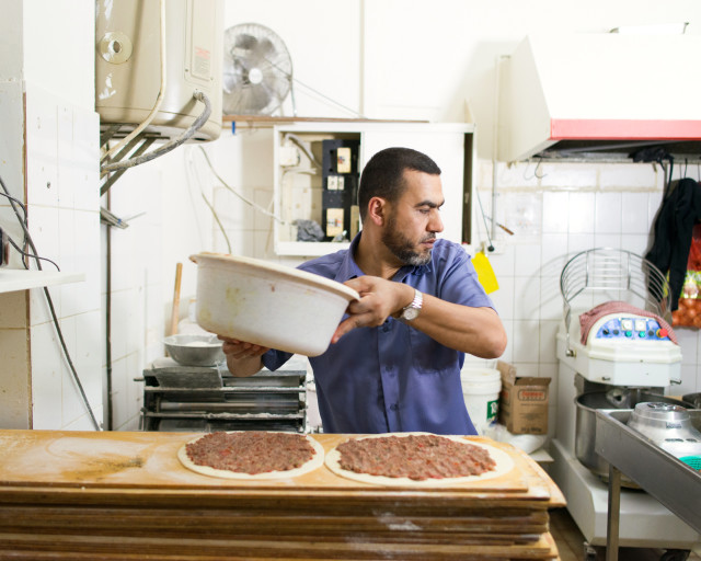 Sheikh Khaled was busy running his successful bakery where he pioneered the first manoush in the area, when controversy hit the Muslim community. He decided to do something about it. He decided to become a Sheikh. www.mappingfrictions.com