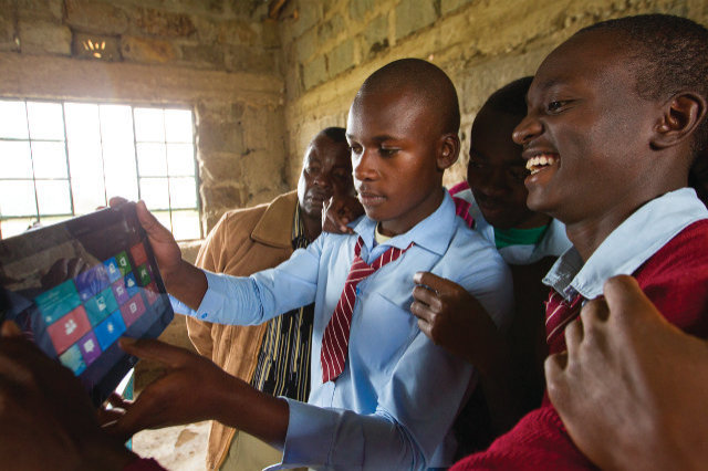 """With our solution we will be able to provide power to tablets of school kids in rural areas. As one of the greatest leader said """" Education is the key to success"""""""