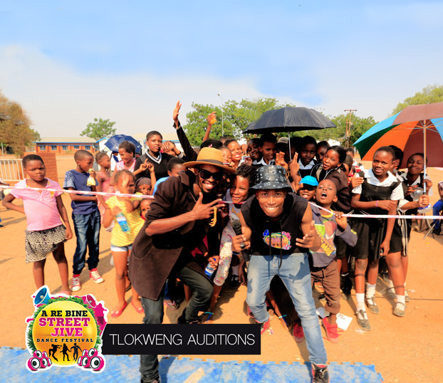School children gathered at the Street Jive auditions in Tlokweng village. Auditions are held during weekends, on Saturday from morning till 4pm. A great environment  to hangout for idling youths. We have few recreational facilities, so our events provide entertainment for most children and youths.