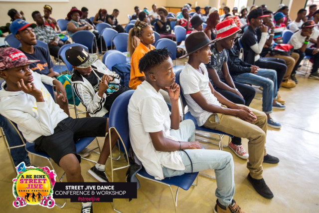 Semifinalists attending the Street Jive Dance Conference and Workshop in Gaborone.