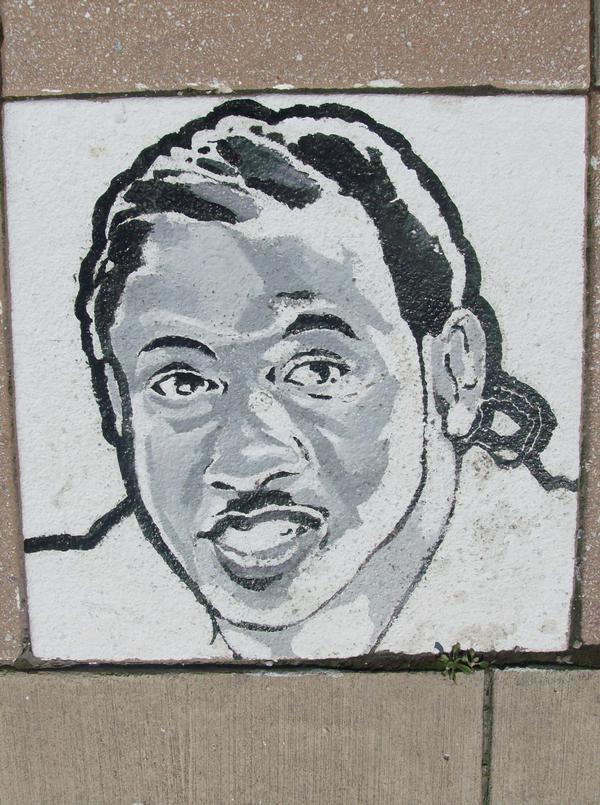 Pennsylvania Avenue (Pennsylvania Ave & Lafayette Street- 2013)--mural