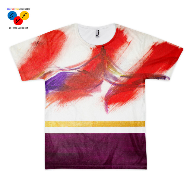 """HMSC #1"" sublimation t-shirt by Brian Seymore"
