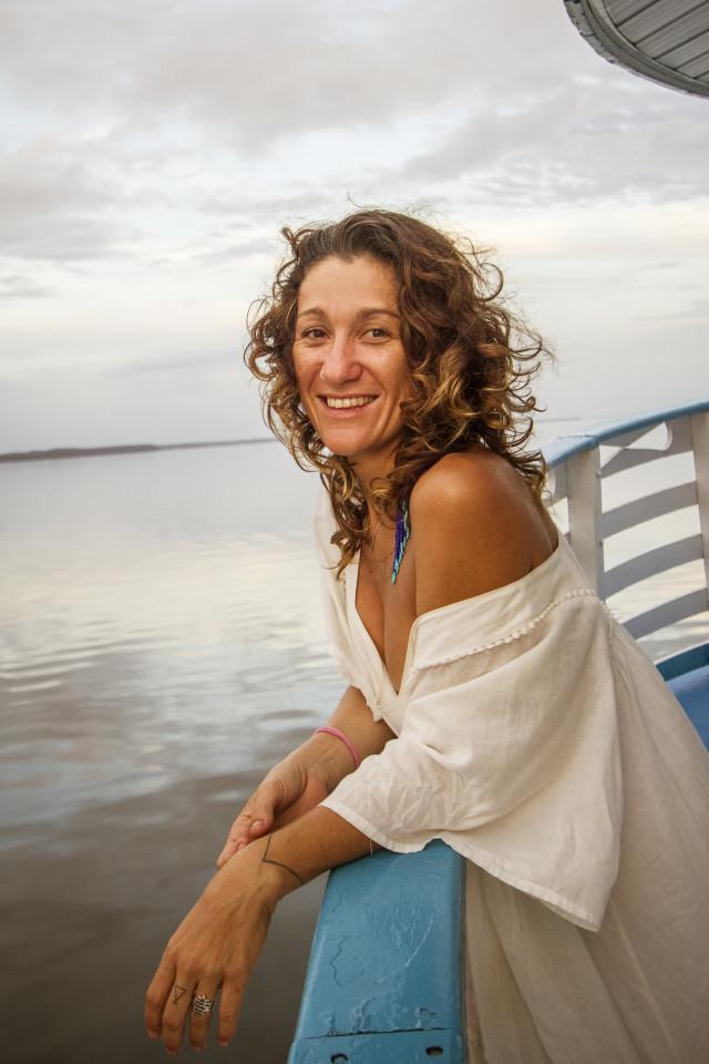 A inovadora social Adhara Scanavino