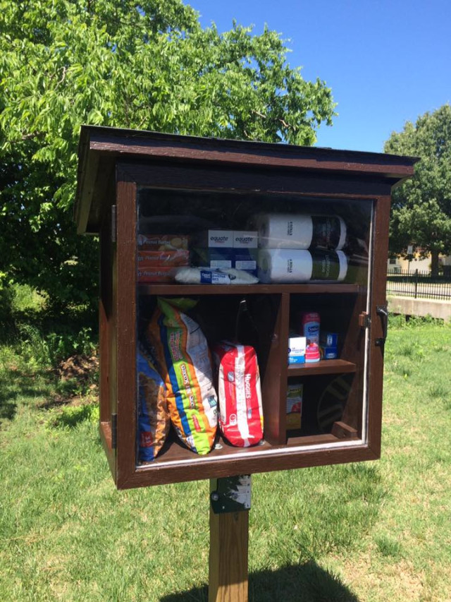 Pilot Little Free Pantry, launched May 14, 2016