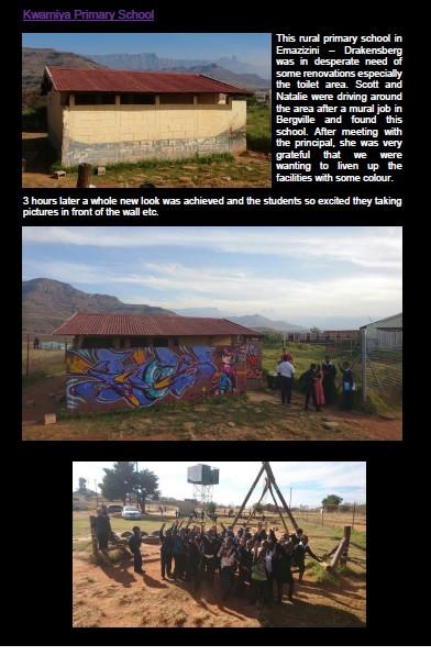Kwamiya Primary School, Emazizini – Drakensberg
