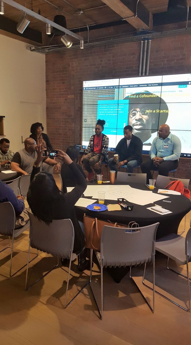 Cofounders Build Meetup at Google Fiber
