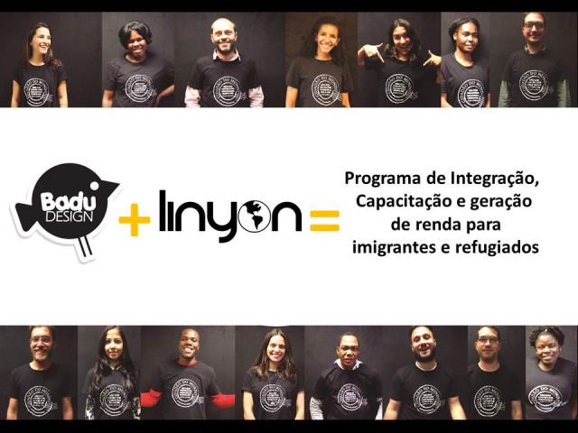 Fotos realizadas para a campanha de arrecadação de recursos par a capacitação dos participantes. Nesta fotos temos várias nacionalidades.