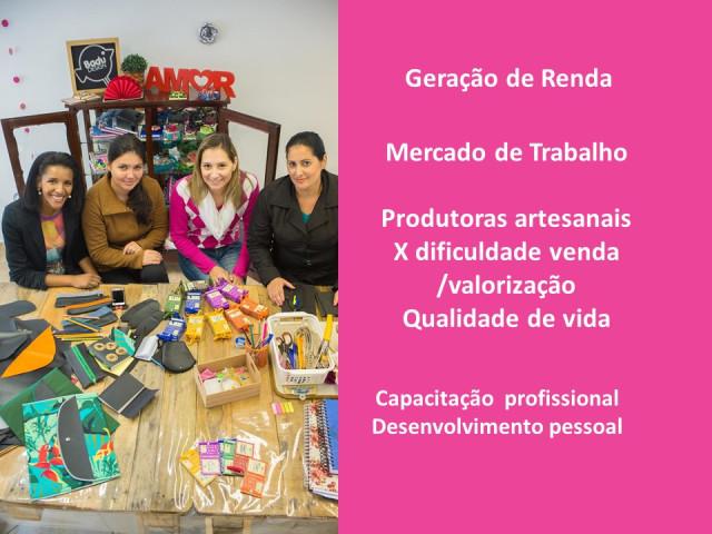 Grupos produtivos - Mulheres