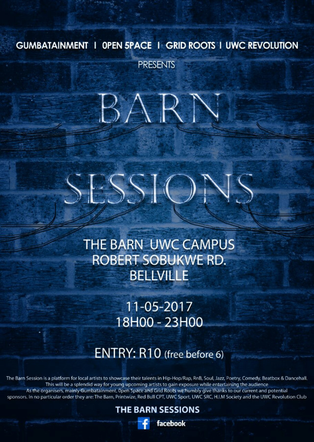 20170511 Barn Session 2 Poster