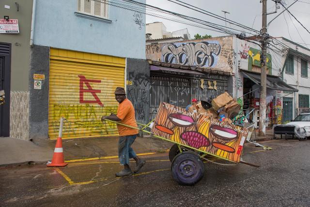 Catadores, Sao Paulo.