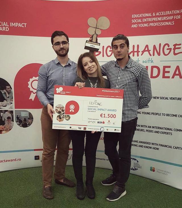 Winning the Social Impact Awards Romania 2017