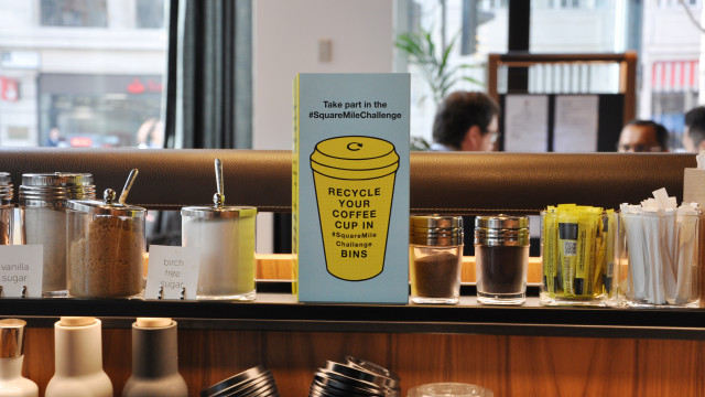 Square Mile Recycling is keeping coffee waste out of the bins