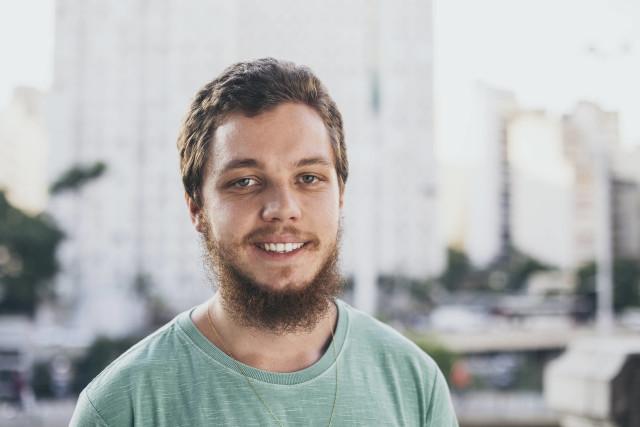 Gabriel Marmentini, um dos fundadores da plataforma