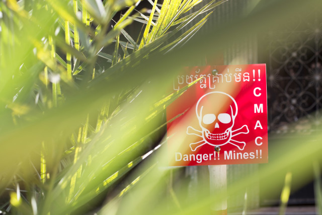 Mines kill or maim around 5,000 annually