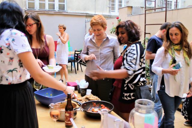 Impact hub Belgrade, Social Anxiety Meals