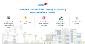 5 Factors to Choosing an Electricity Service Provider in the USA