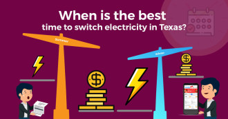 Best time to switch electricity in Texas