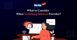 When Switching Internet Provider