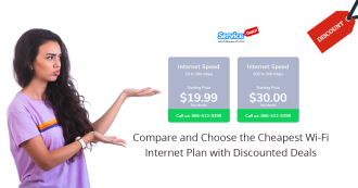 Wi-Fi Internet Plan with Discounted Deals- Servicedealz