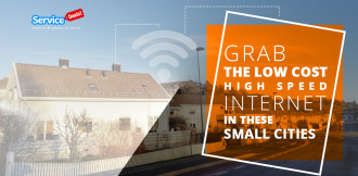 Grab the Low-cost High-speed Internet in These Small Cities