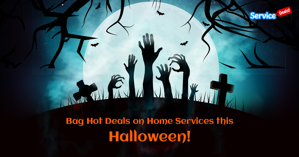 Hot Deals on Home Services this Halloween