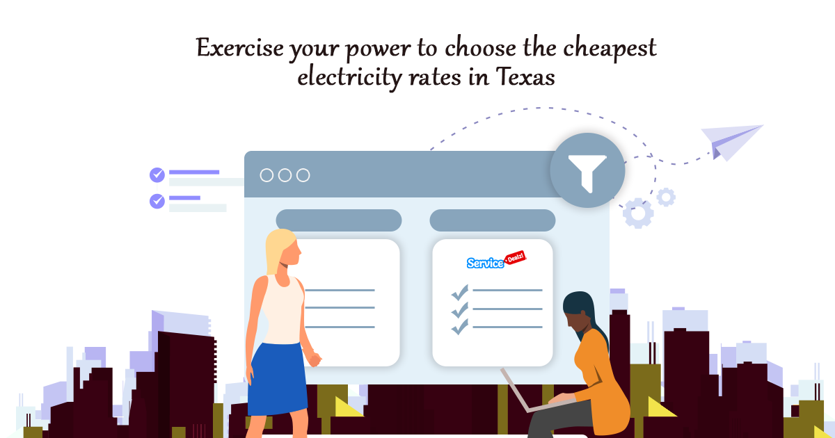 power to choose the cheapest electricity rates in Texas
