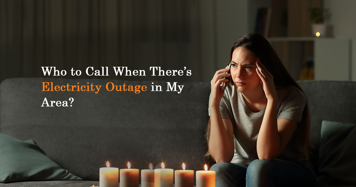 electricity outage in my area