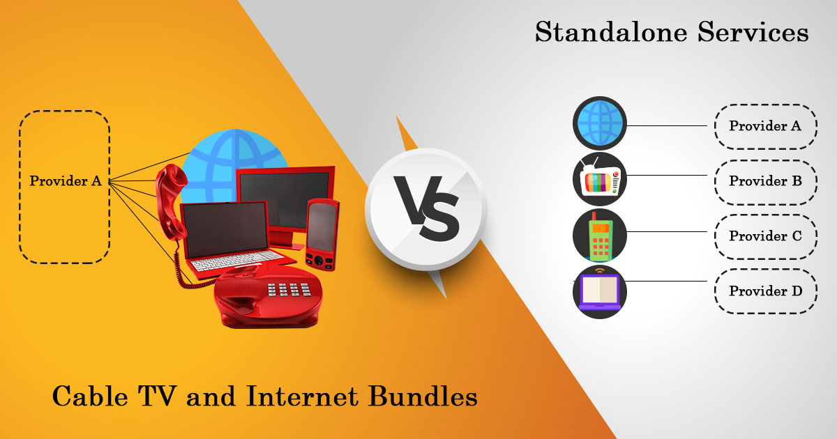 Cable TV and Internet Bundle vs Standalone Services