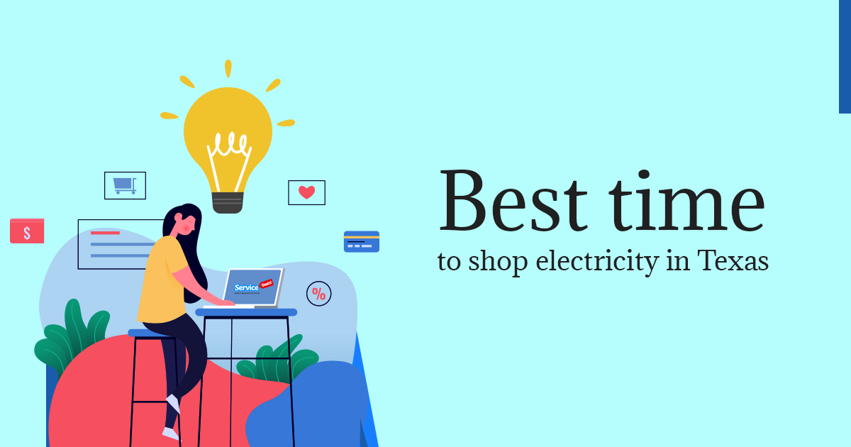 shop electricity in Texas