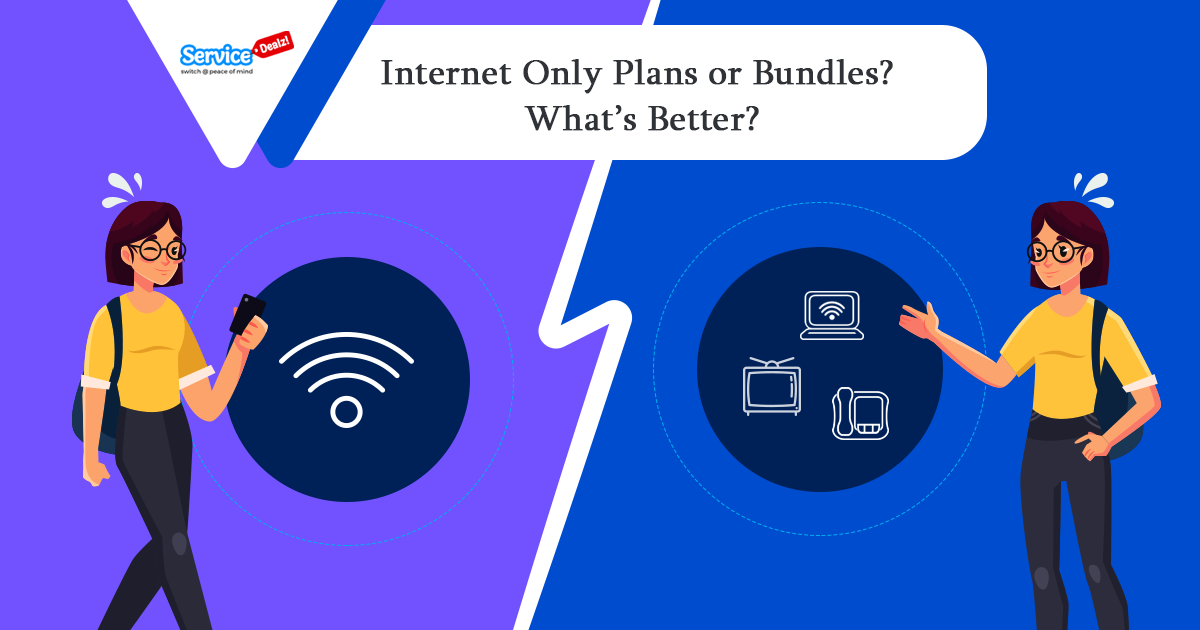 Internet Only Plans or Bundles
