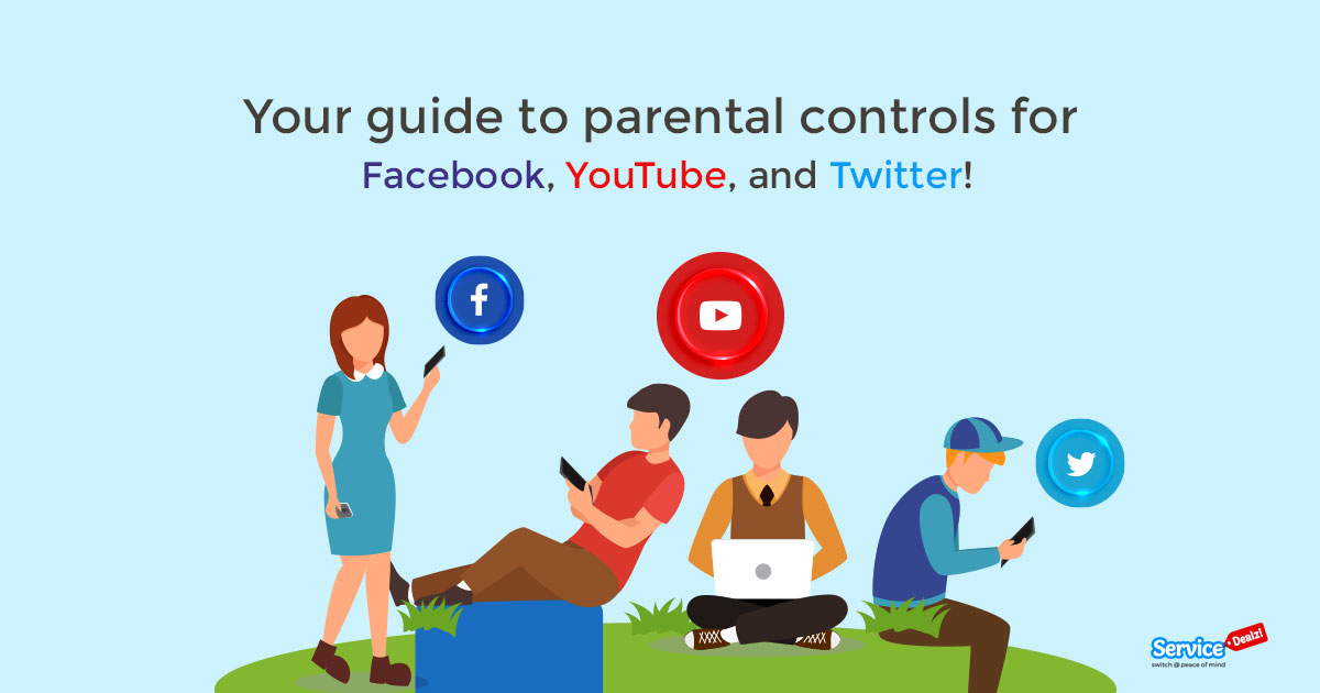 Guide to Parental Controls for Facebook, YouTube, and Twitter!
