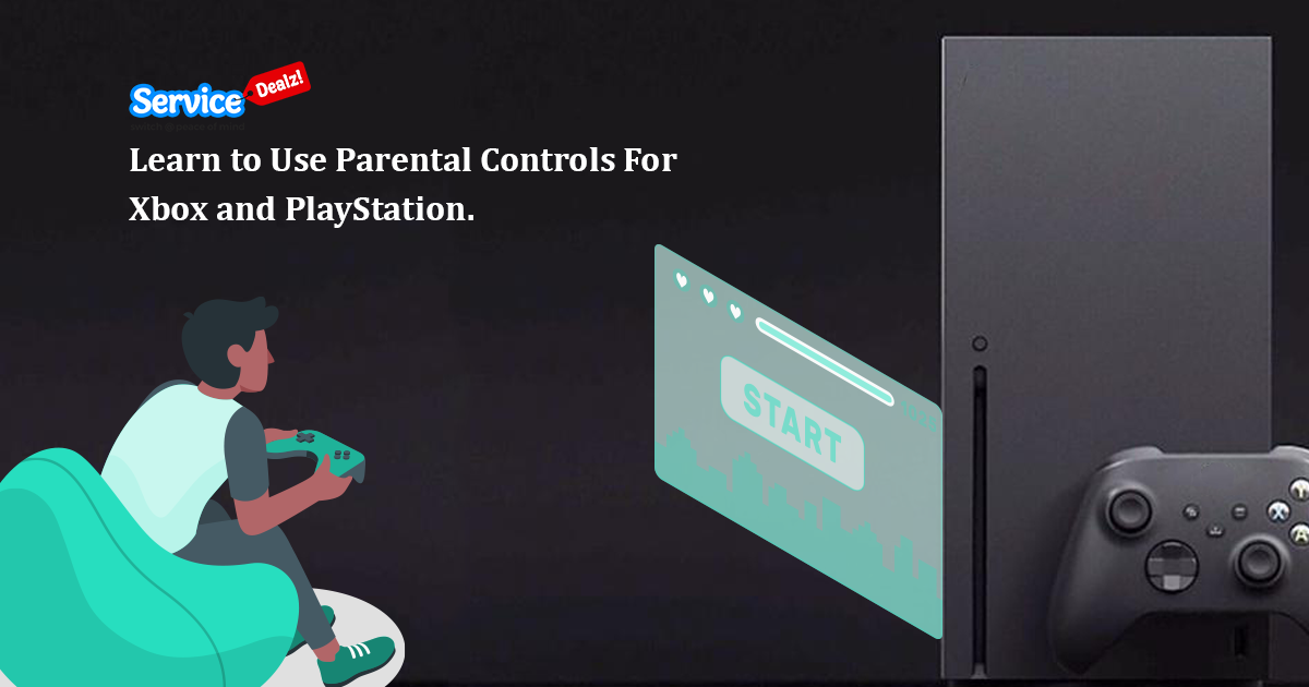 Parental Controls for Xbox and PlayStation!