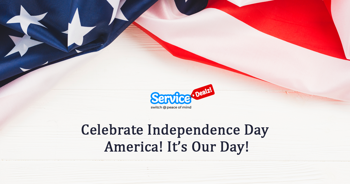 Celebrate Independence Day America!