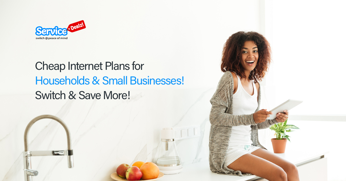 Cheap Internet Plans for Households & Small Businesses
