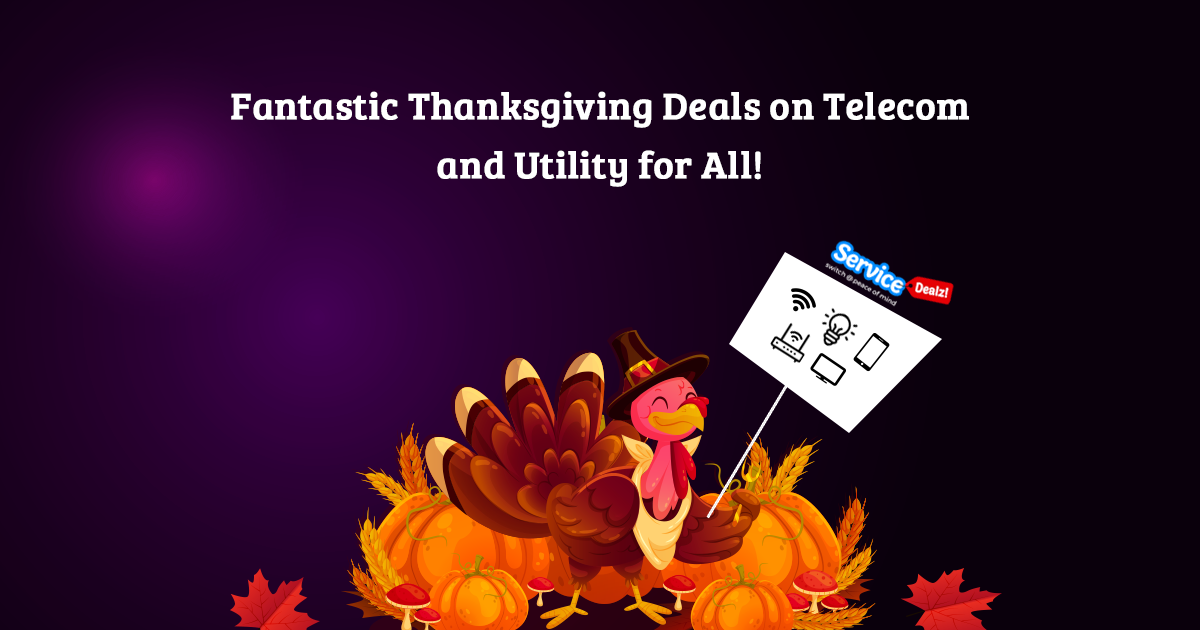 Fantastic Thanksgiving Deals on Telecom and Utility for All!