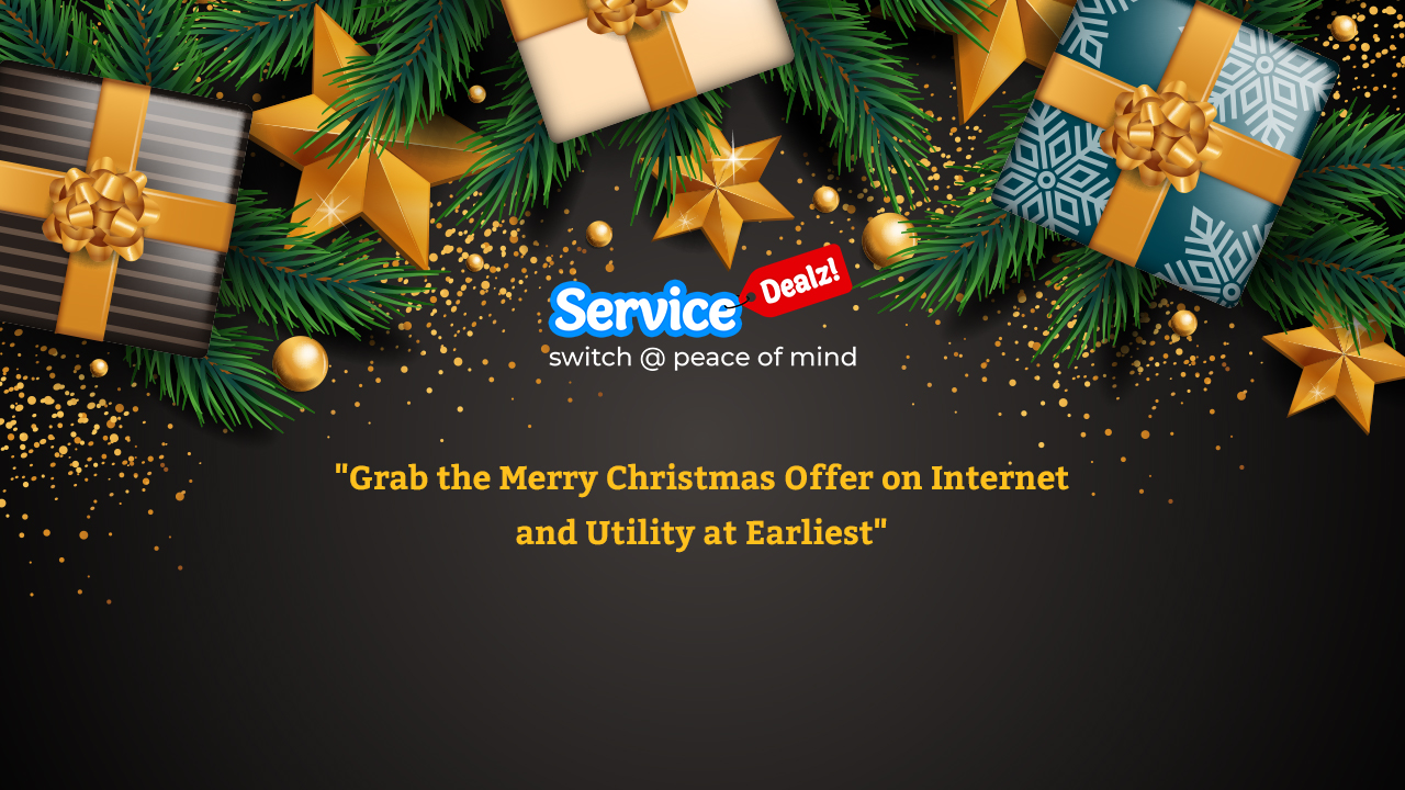 Grab the Merry Christmas Offer on Internet and Utility at Earliest