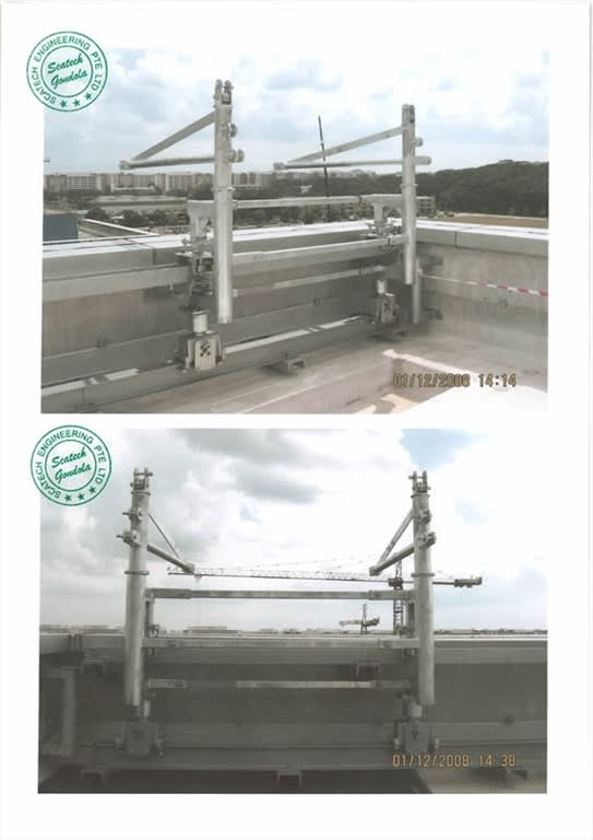 Double Track Gantry System