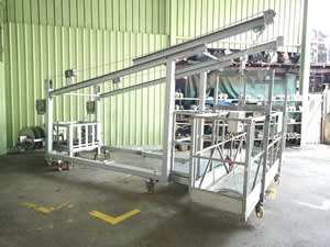 Intermediate Floor Counter Weight Anchorage System