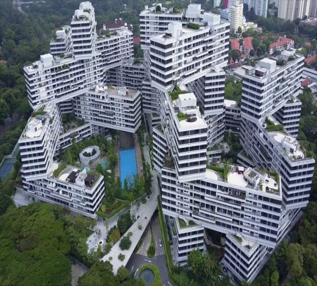 The Interlace condominium