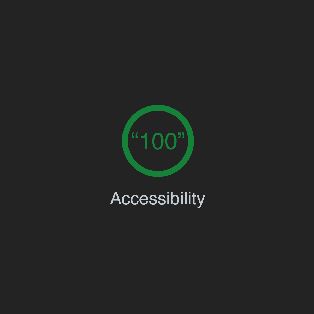 Building the most inaccessible site possible with a perfect