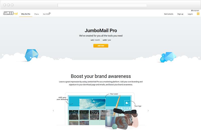 הקמת אתר עבור ג'מבומייל