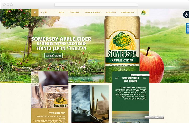 הקמת אתר עבור סומרסבי