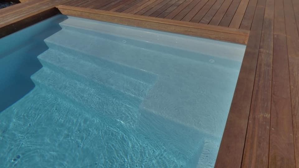 piscine lavande