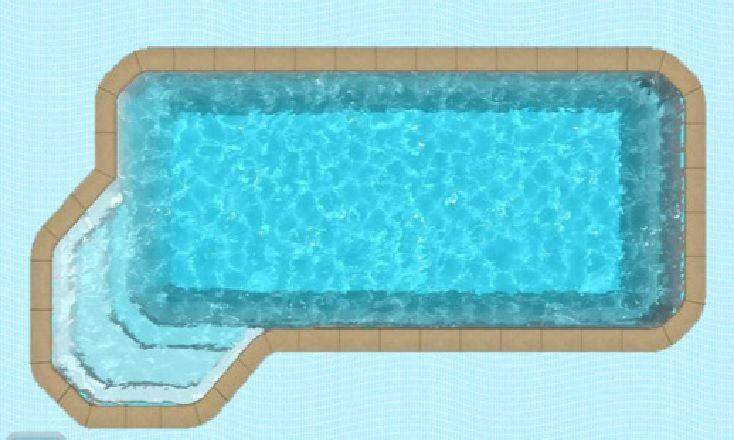 piscine Récif Virgin