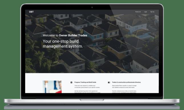 Owner Builder Trades summary