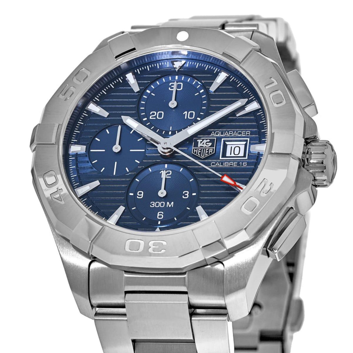 online retailer 6a1d4 667ce Tag Heuer Aquaracer 300M Automatic Chronograph Men's Watch CAY2112.BA0925